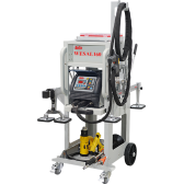 WESAL160 - Aluminium Dent Pulling Machine