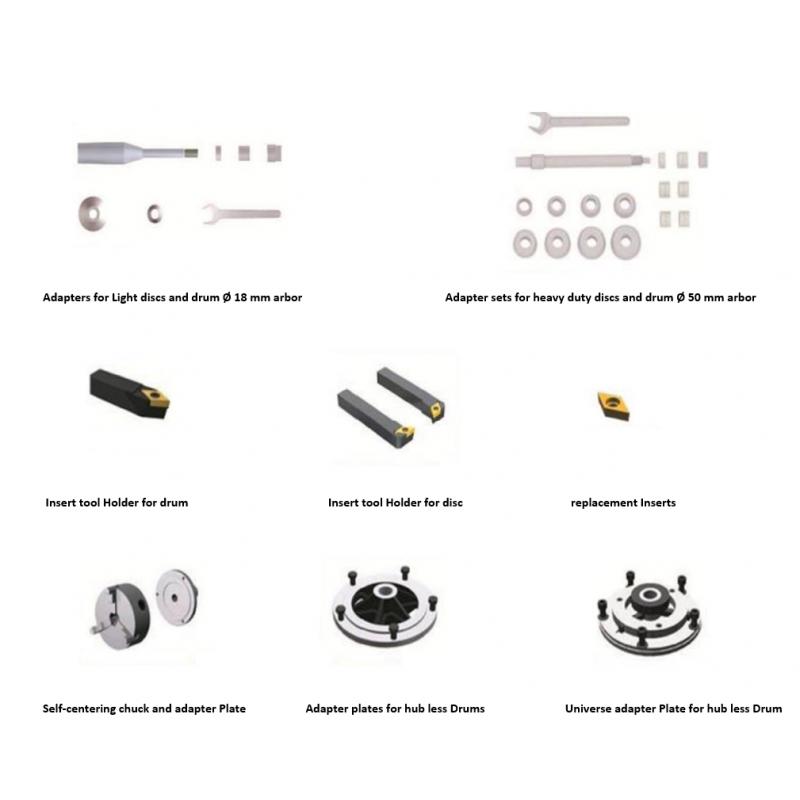 brake lathe for brake disc  u0026 drum skimming   cutting  disc