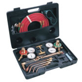 GAS WELDING BRAZING SOLDERING & BURNING CUTTING KIT - WEGDK121